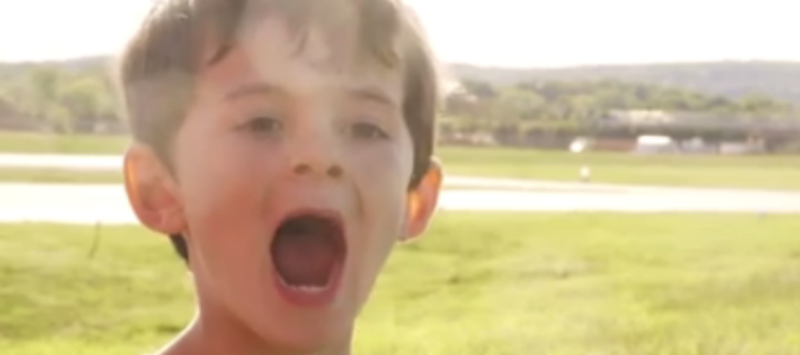 Son Is All Smiles After Dad Uses EPIC Method To Pull His Tooth [VIDEO]