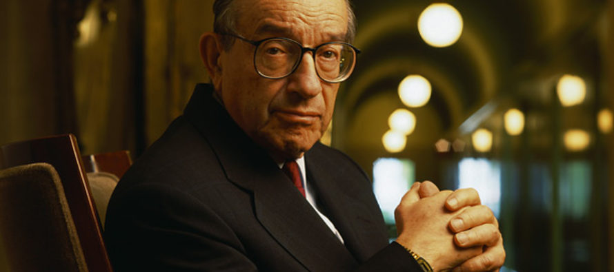Former FED Chief Alan Greenspan: Something Worse Than the Housing Crisis Of 2008 Is Coming
