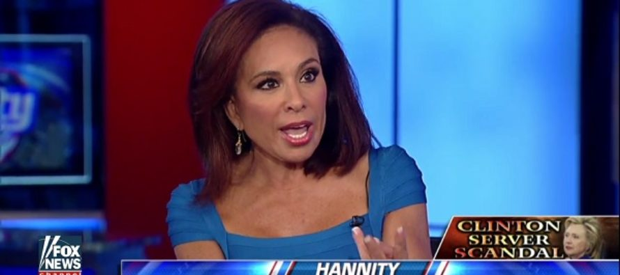 Judge Jeanine DESTROYS Hillary With Home Server Explanation [VIDEO]