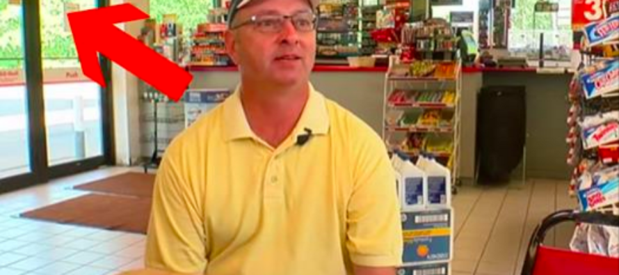 This Gas Station Owner Was Robbed Twice, Then He Put Up a Sign That Drove Liberals Crazy [VIDEO]