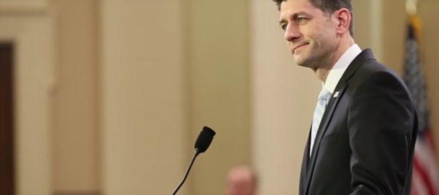 BREAKING: Paul Ryan BACKS Obama On Sanctions Against Russia