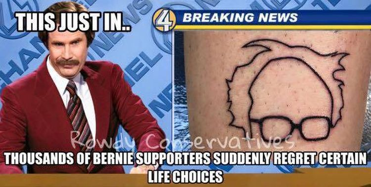 bernie life choices 750