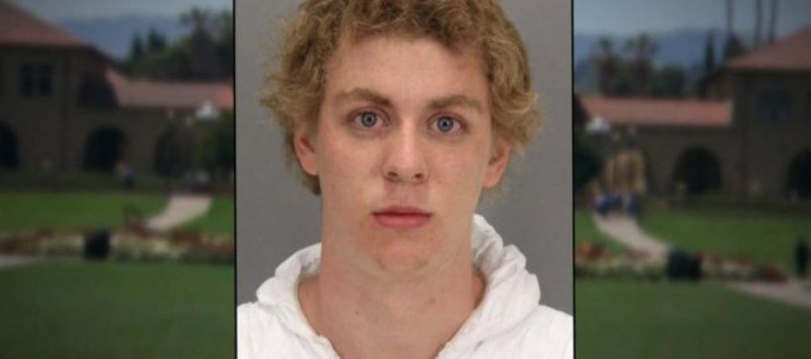 Stanford Rapist Accused of Sending Picture of Victim's Breasts to Friends [VIDEO]