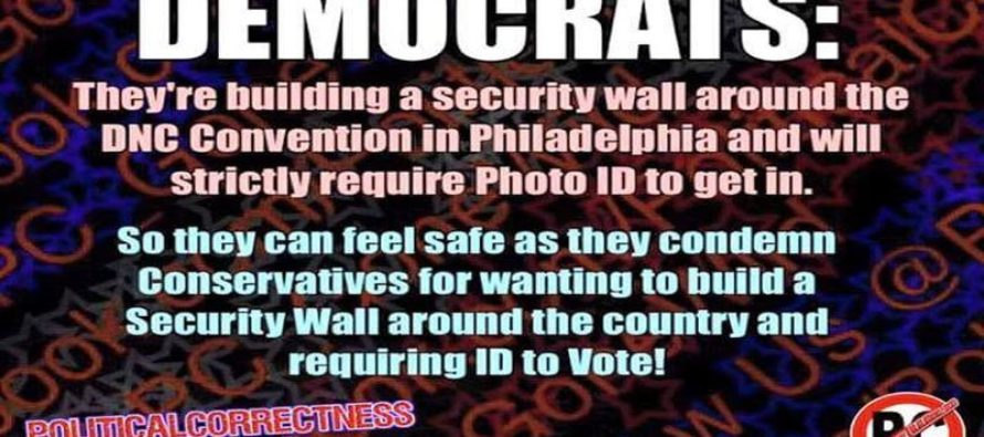 Liberal Hypocrisy On Walls Brutally Exposed [Meme]