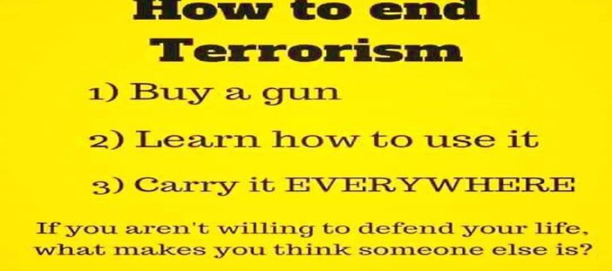 What All Americans Should Do To Combat Terrorism BRILLIANTLY Explained [Meme]