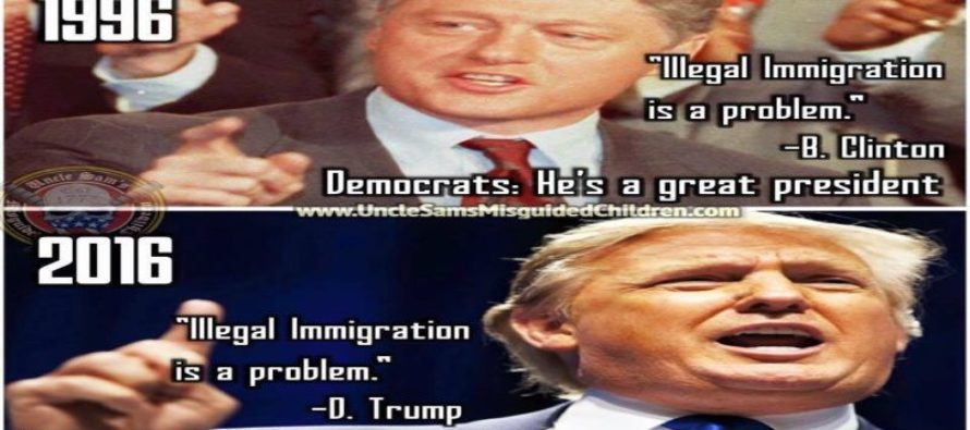 Democrats GLARING Hypocrisy On Presidents and Presidential Candidates Exposed [Meme]
