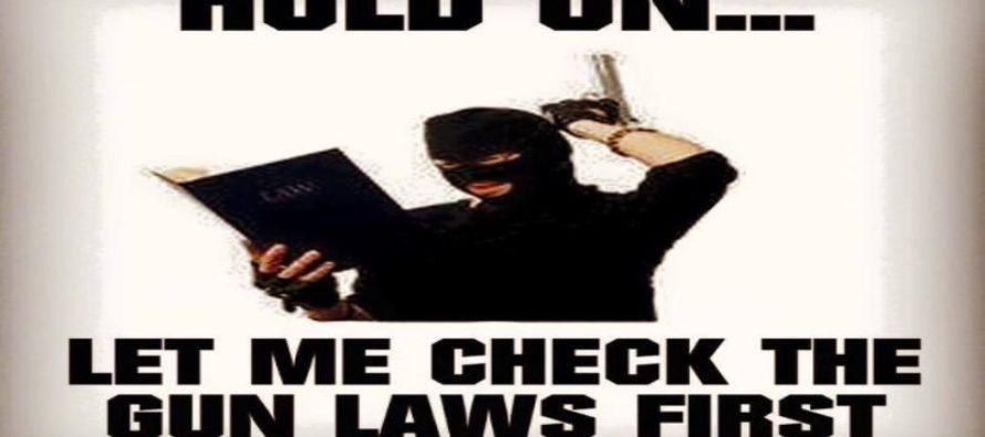 Why Liberal 'Gun Control' is a HILARIOUS Joke to Criminals [Meme]