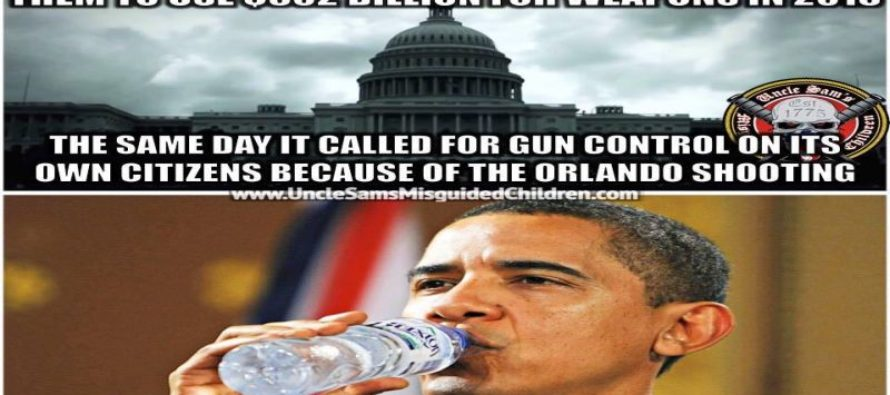 Obama's Gun Grabbing Hypocrisy After Orlando Will Make You SICK [Meme]