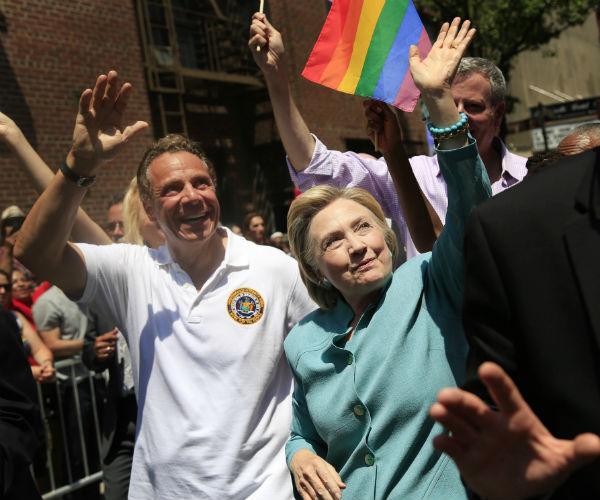 hillary gay pride