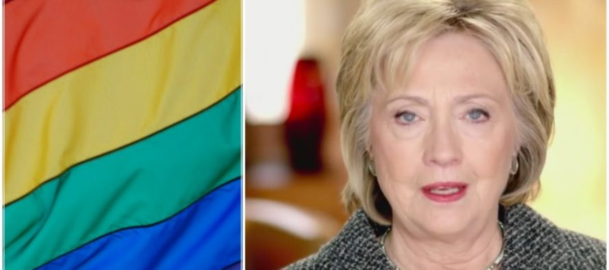 Hillary in PANIC MODE After LGBT Community Gives Her THIS Game Changing Message