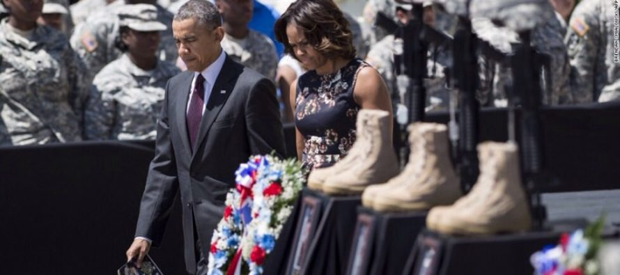 Father of Fallen Marine OBLITERTES Obama: 'You Are An Embarrassment'