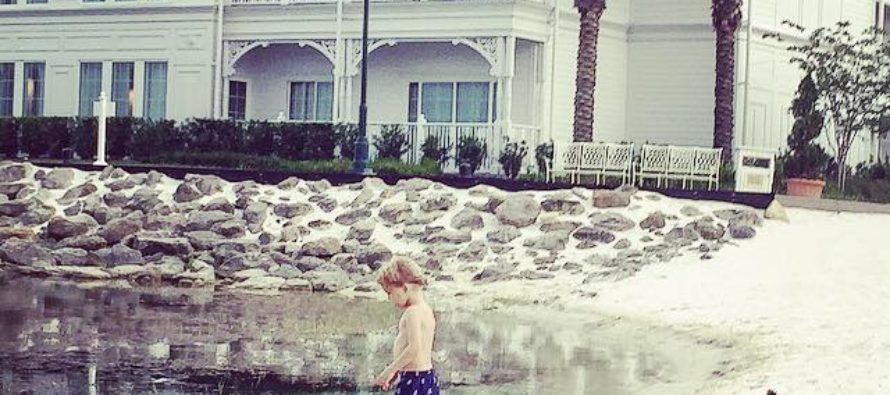 CHILLING: Mother Shares the Pictures of Her Son Playing at Disney Lagoon – With THIS Plea