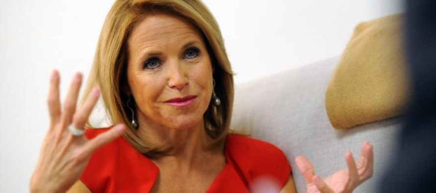 Liberal Katie Couric in Hot Water Again for Doing THIS