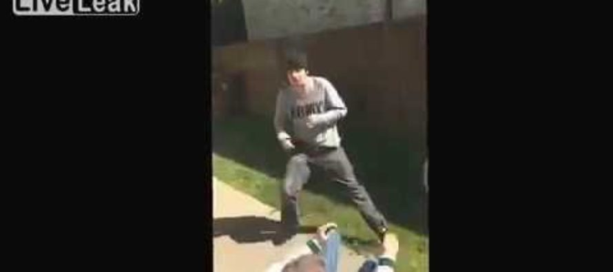 This is the Reason You SHOULDN'T Challenge Your Son to a Fist Fight [VIDEO]