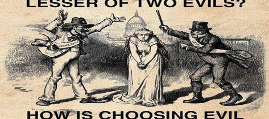 The Lesser Of Two Evils PERFECTLY Defined [Meme]