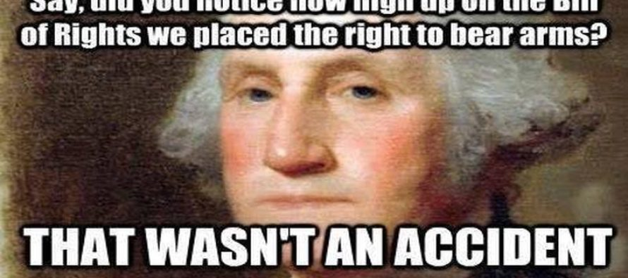 The Founding Fathers Didn't Make A Mistake When They Made The Second Amendment [Meme]