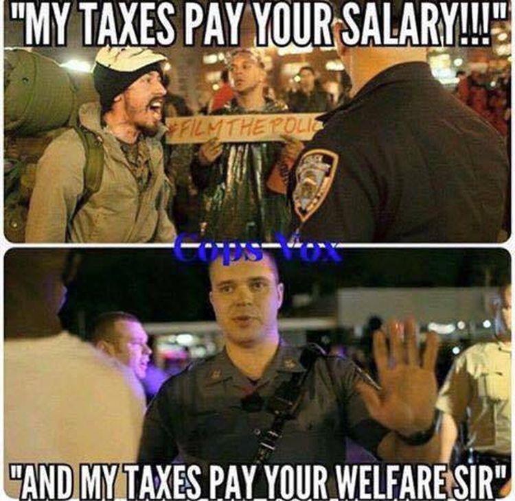 taxes VS welfare 750