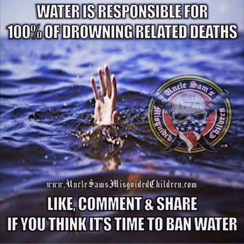 water deaths 800