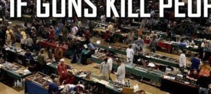 Why Liberals And Their Gun Control Is A Big JOKE! [MEME]