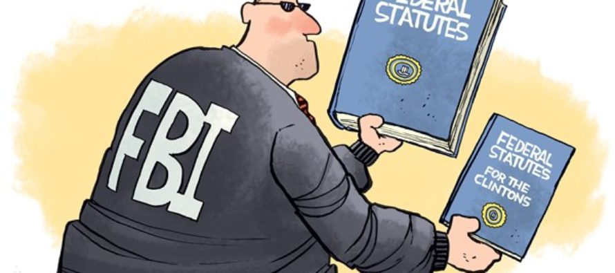 FBI Double Standard (Cartoon)