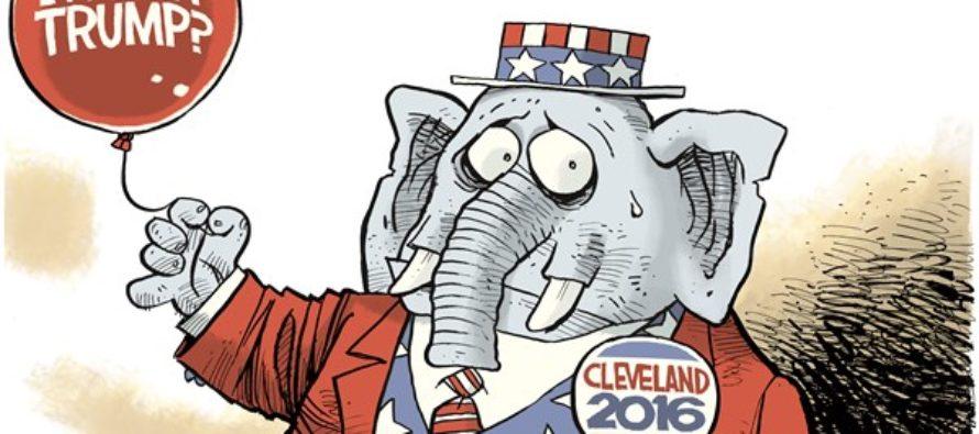 With Trump (Cartoon)