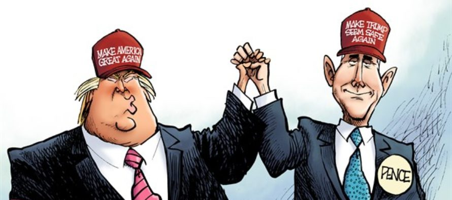 Picking Pence (Cartoon)