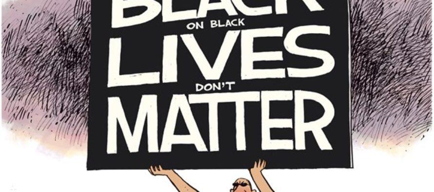 Black on Black Lives (Cartoon)