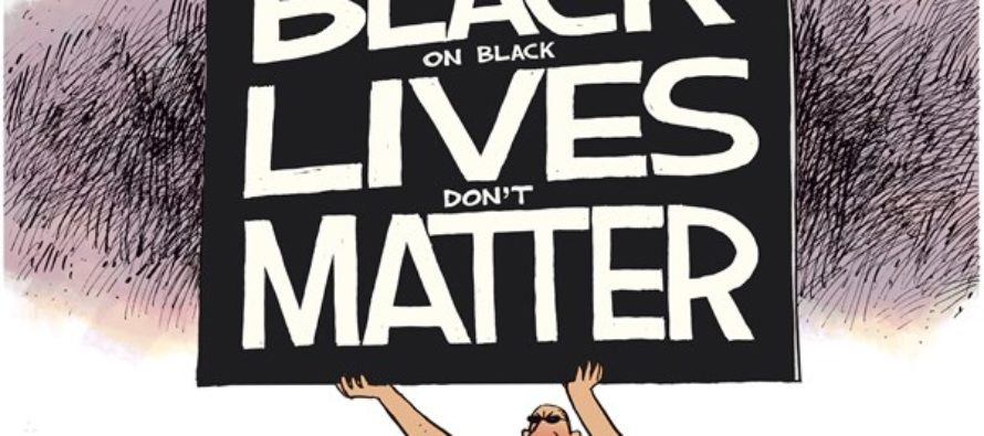 Black on Black Lives (Cartoon)