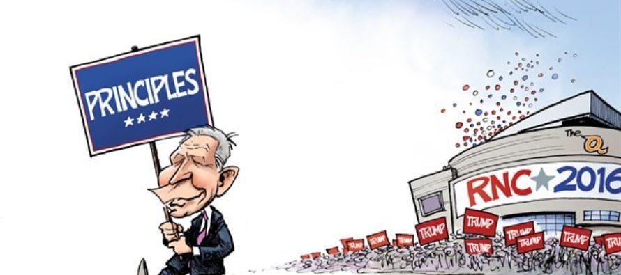 Cruz Speech (Cartoon)