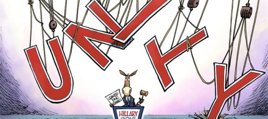 Unity for Hillary (Cartoon)