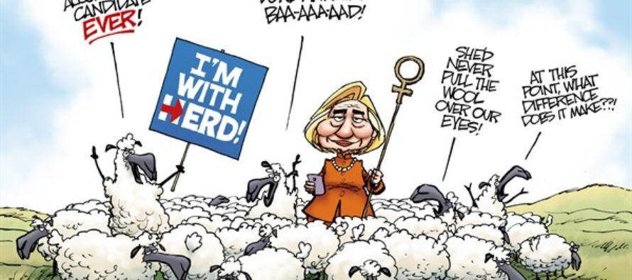 Democratic Party Animal (Cartoon)