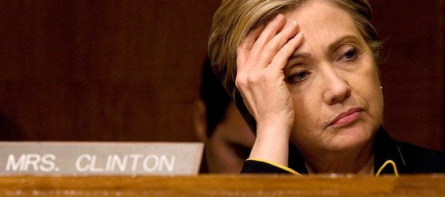 Hillary Gets Some BAD News After FBI Announcement