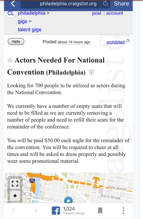 2016-07-28 07_13_02-DNC Places Craigslist Ads for Actors to Fill Empty Seats at Convention _ The Fed