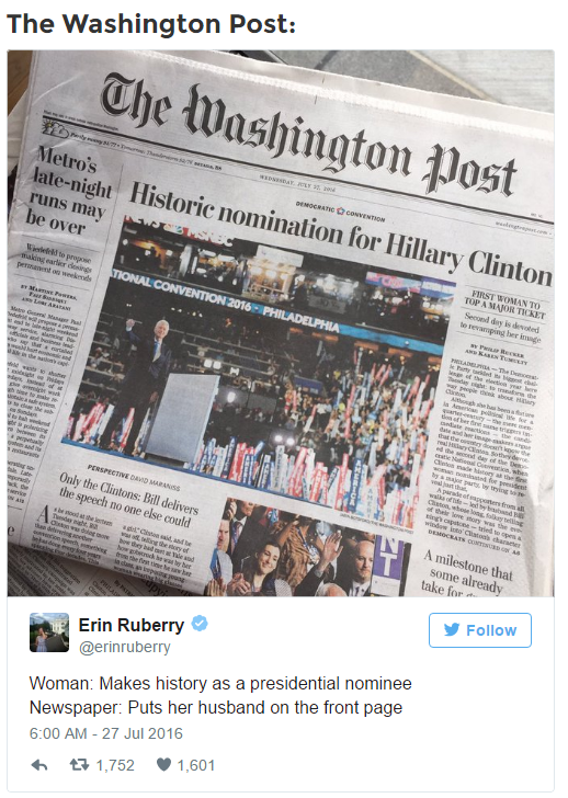 2016-07-28 08_18_22-Hillary Couldn't Have Been Happy When She Saw Photos Newspapers Used to Announce