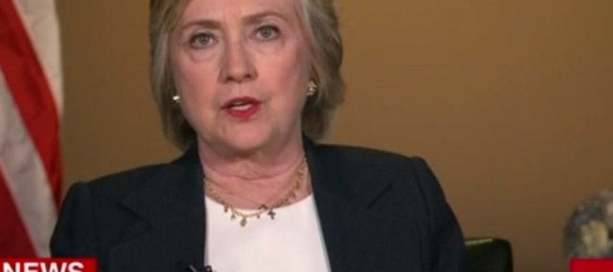 OUTRAGE! Hillary Clinton Singles Out White Cops for Deaths of Young Black Men!