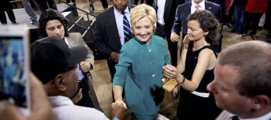 Hillary Dishes Major Diss To Families Of Fallen Officers!