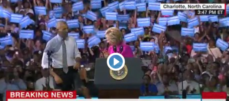 REVEALED: Here's How Much YOU Paid for Obama to Campaign With Hillary [VIDEO]