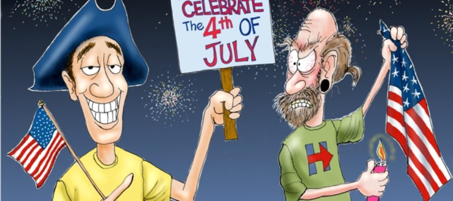 Independence Day 2016 (Cartoon)