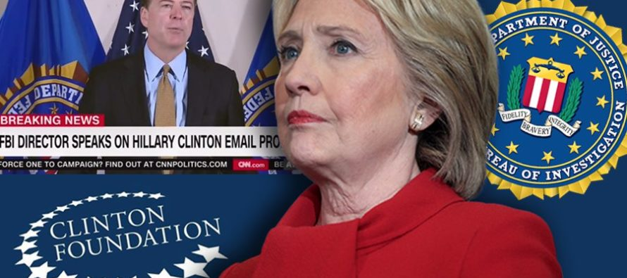 BREAKING: FEDS LAUNCH INVESTIGATION INTO CLINTON FOUNDATION