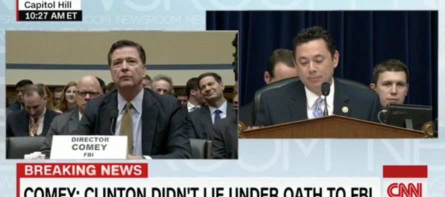 FBI Director Asked If Hillary 'Lied Under Oath'… Watch His Response [VIDEO]