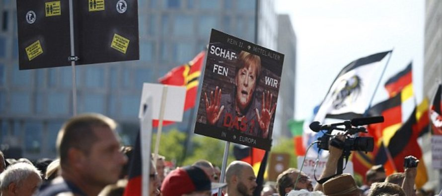 'Merkel Must Go' March By THOUSANDS Of Germans…Guess Why They're Pissed?
