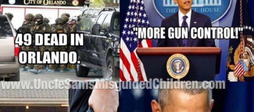 The SICK Truth Behind Obama's Gun Control Will Blow Your Mind [Meme]