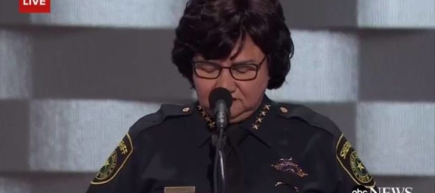 During A Moment Of Silence For Fallen Officers A Scream Erupted! [VIDEO]