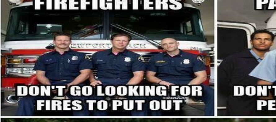 What the Liberal Left Always Ignores About First Responders… [Meme] [VIDEO]