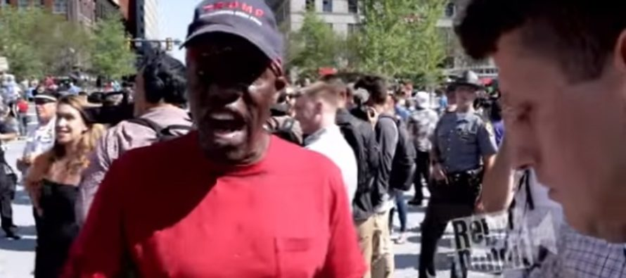 CNN Reporter Tries To Ambush Black Trump Supporter, Gets Startling Blow To The Ego! [VIDEO]
