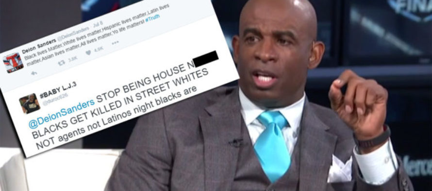 "Famous athlete says whose lives really ""matter"" and LIBERALS lose their minds"