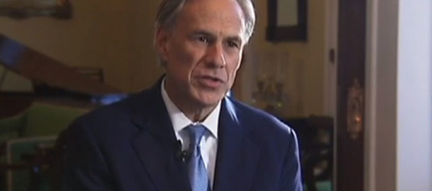 Texas Governor Greg Abbott Announces Police Protection Act as a Response to Cop Shootings