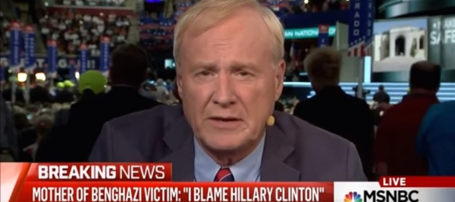 Chris Matthews is OUTRAGED the GOP Allowed a Benghazi Victim's Mother to Speak at the Convention [VIDEO]