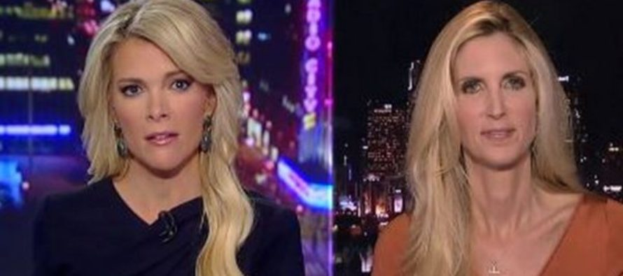 After Megyn Kelly Accused Roger Ailes of Sexual Harassment, Ann Coulter Jabbed Her By Saying This