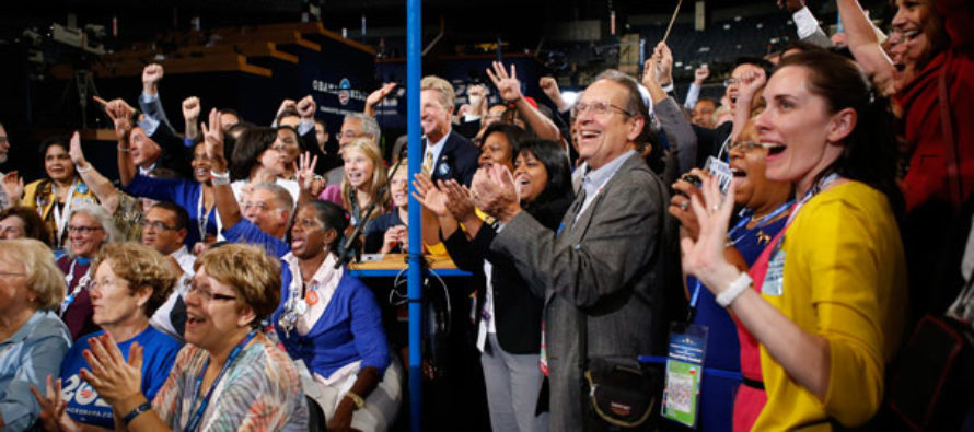 DNC Delegate Stops USA Chant, Because…OFFENSIVE!